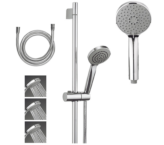 Crosswater Wisp Shower Kit Package 2 - Low Pressure