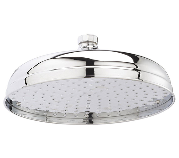 Nuie 12 Inch Apron Fixed Shower Head - HEAD16
