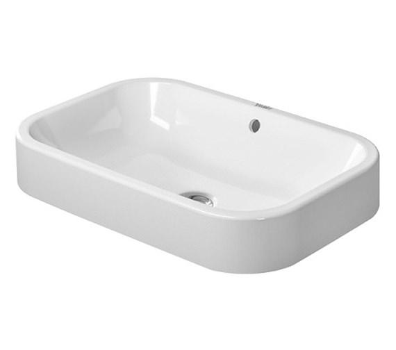 Duravit Happy D2 600 x 400mm Ground Wash Bowl - 2314600000