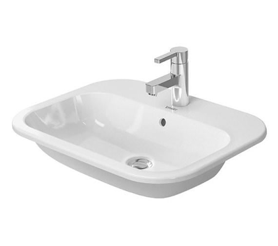 Duravit Happy D.2 600 x 460mm Countertop Vanity Basin