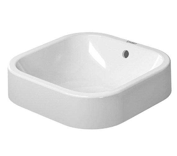 Duravit Happy D2 400mm Ground Wash Bowl - 2314400000