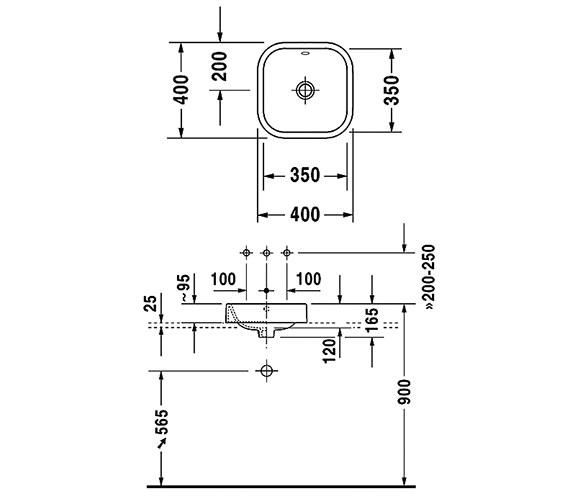Technical drawing QS-V24804 / 2314400000