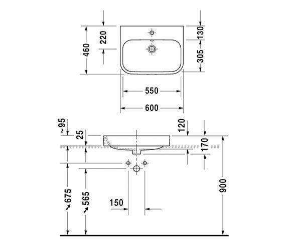 Technical drawing QS-V24805 / 2315600060