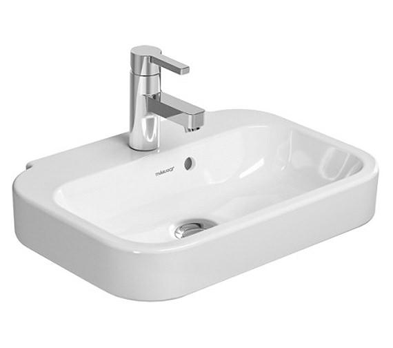 duravit happy d2 500 x 360mm handrinse basin 0709500000. Black Bedroom Furniture Sets. Home Design Ideas