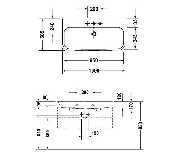 Technical drawing QS-V14499 / 2318120000