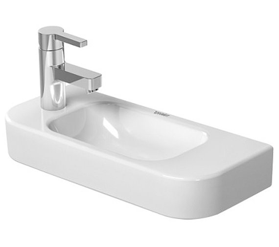 Duravit Happy D2 500 x 220mm Handrinse Basin - 0711500009