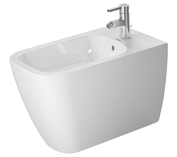 Duravit Happy D2 365 x 630mm Floor Standing Bidet - 2259100000