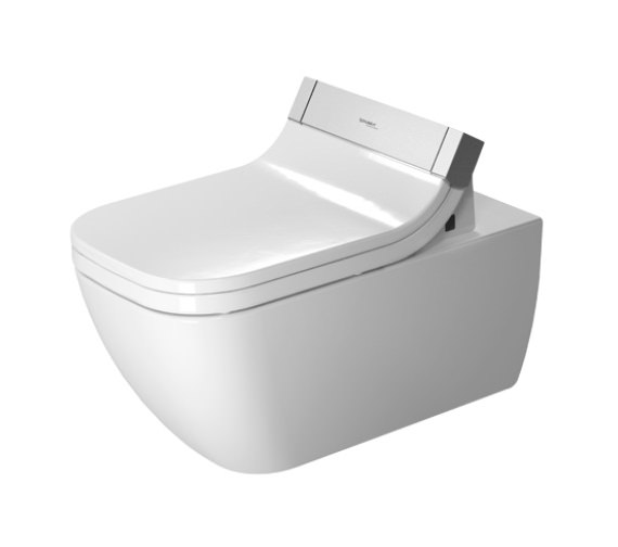 Duravit SensoWash e Seat With Happy D2 Wall Mounted Toilet