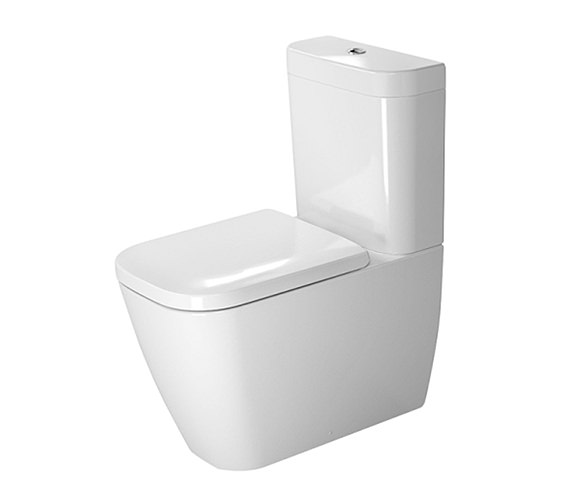 Duravit Happy D2 365 x 630mm Close Coupled WC With Dual Flush Cistern