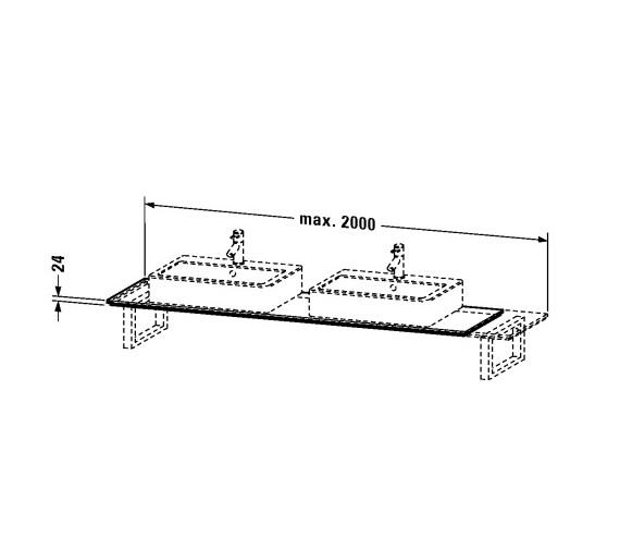 Technical drawing QS-V24858 / H2045C02222