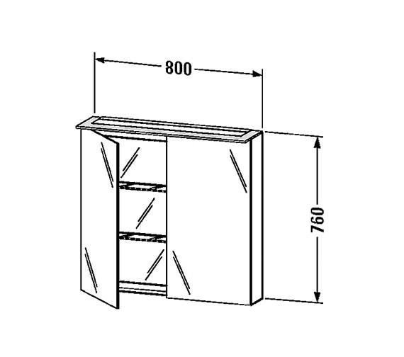 Technical drawing QS-V24865 / H2759402222