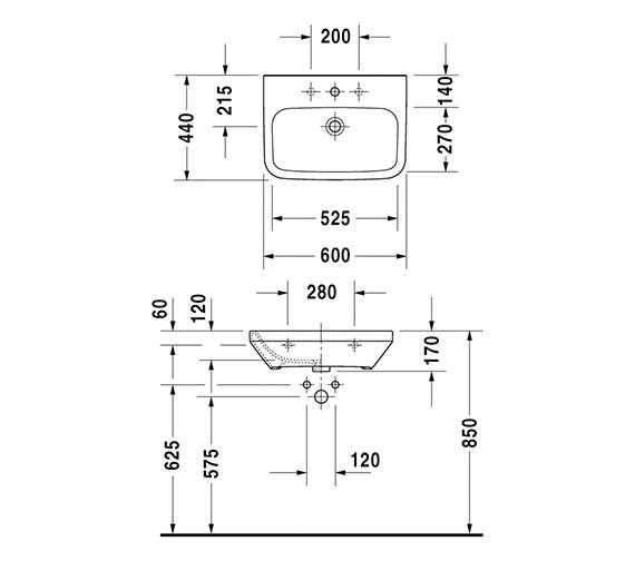 Technical drawing QS-V24888 / 2324600000