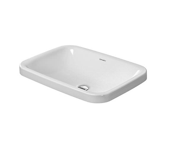 Duravit DuraStyle 600 x 430mm Vanity Basin - 0372600000