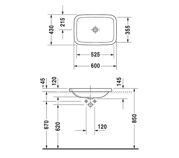 Technical drawing QS-V24890 / 0372600000