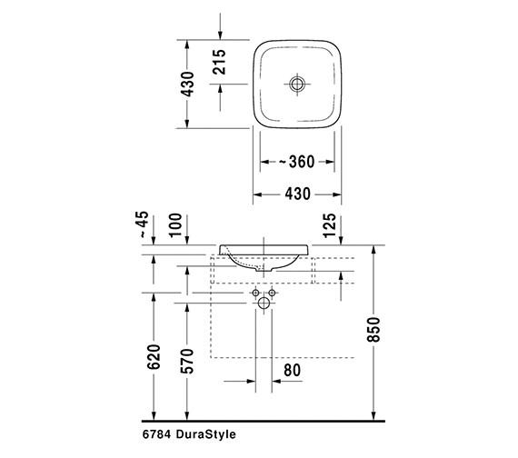 Technical drawing QS-V24894 / 0372430000