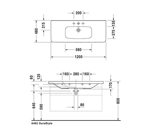 Technical drawing QS-V24900 / 2320120000