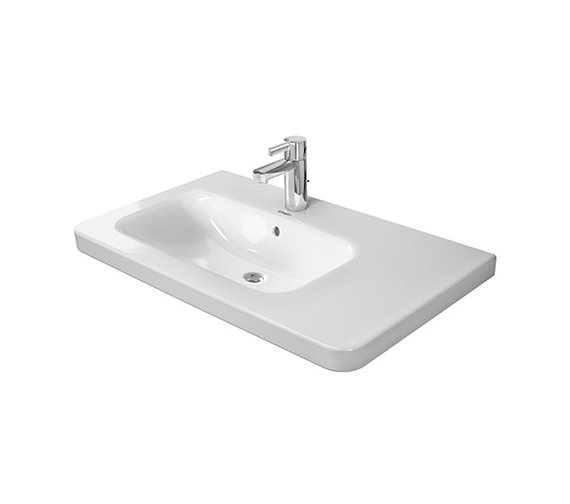 Duravit DuraStyle 800mm Asymmetric Left Bowl Furniture Basin-2325800000