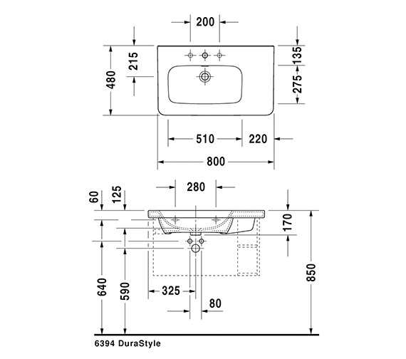 Technical drawing QS-V24902 / 2325800000