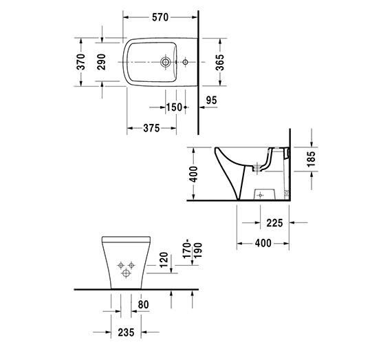 Technical drawing QS-V24906 / 2284100000