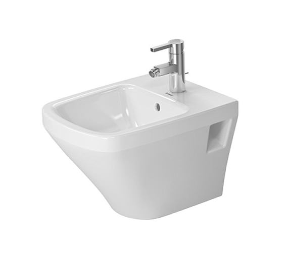 Duravit DuraStyle 480mm Wall Mounted Compact Bidet - 2285150000