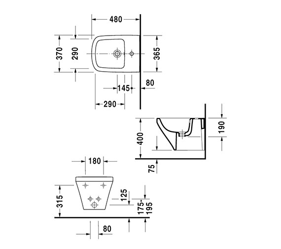 Technical drawing QS-V24908 / 2285150000