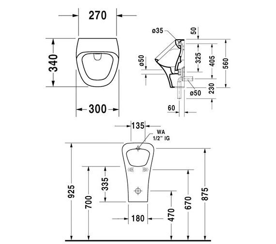 Technical drawing QS-V24909 / 2804300000