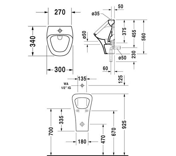 Technical drawing QS-V24912 / 2805300000