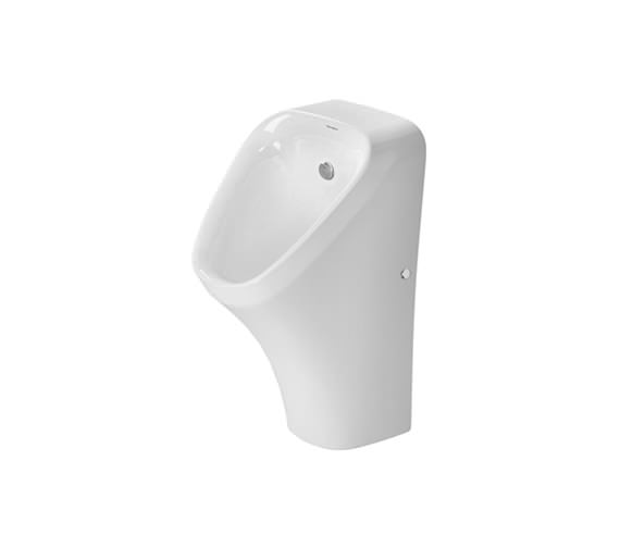 Duravit DuraStyle 300 x 340mm Rimless Urinal With Concealed Inlet