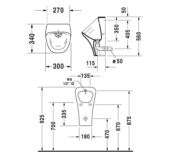 Technical drawing QS-V24913 / 2806300000