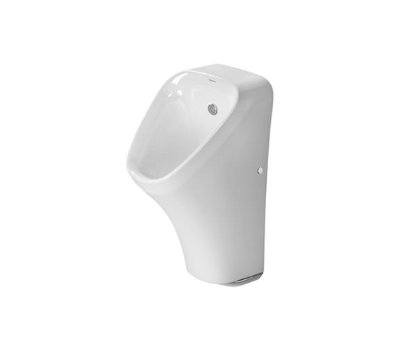 Duravit DuraStyle 300 x 340mm Battery Operated Rimless Electronic Urinal