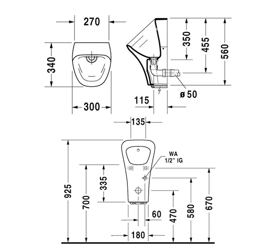 Technical drawing QS-V24914 / 2806310000