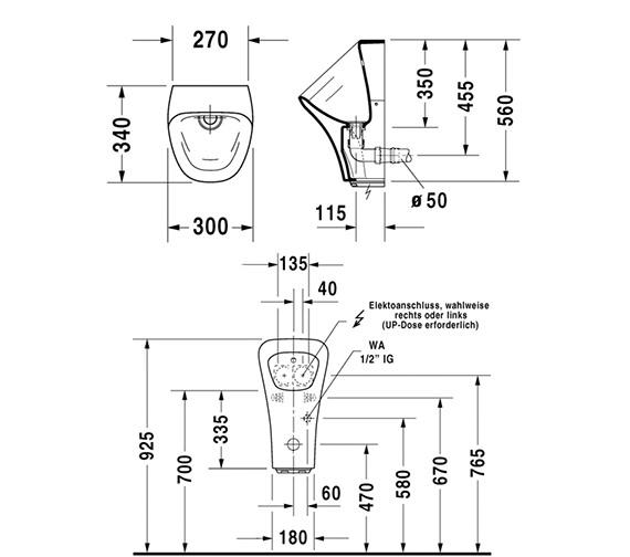 Technical drawing QS-V24915 / 2806310093