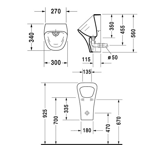 Technical drawing QS-V24917 / 2808300000