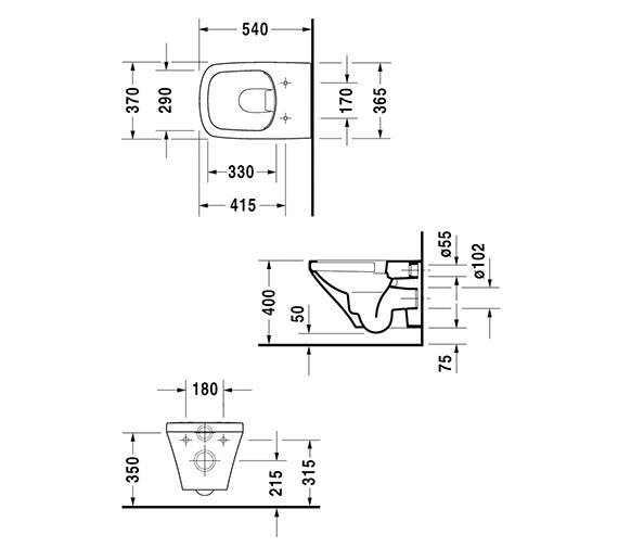 Technical drawing QS-V24924 / 2538090000