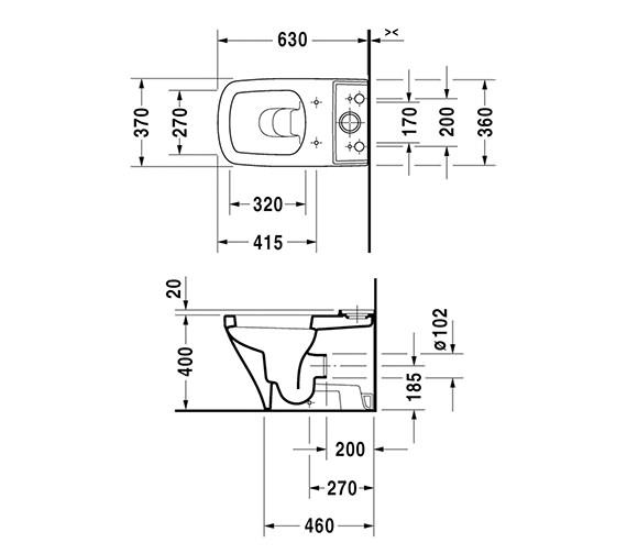 Technical drawing QS-V24927 / 2155090000