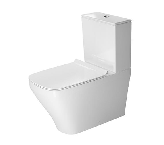 Duravit DuraStyle 370 x 700mm Close Coupled Toilet With Cistern And Seat