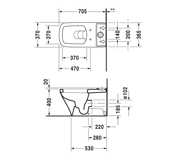 Technical drawing QS-V24928 / 2156090000