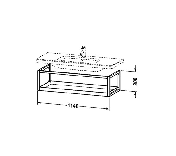 Technical drawing QS-V24954 / DS987401876