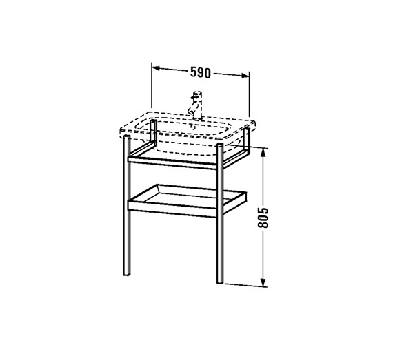 Technical drawing QS-V24955 / DS988101876