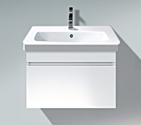 Duravit DuraStyle 600mm Vanity Unit With D-Code 650mm Basin