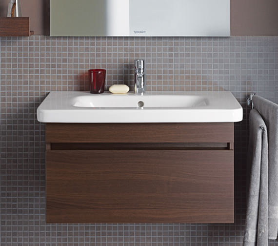 Duravit DuraStyle 800mm Vanity Unit With D-Code 850mm Basin