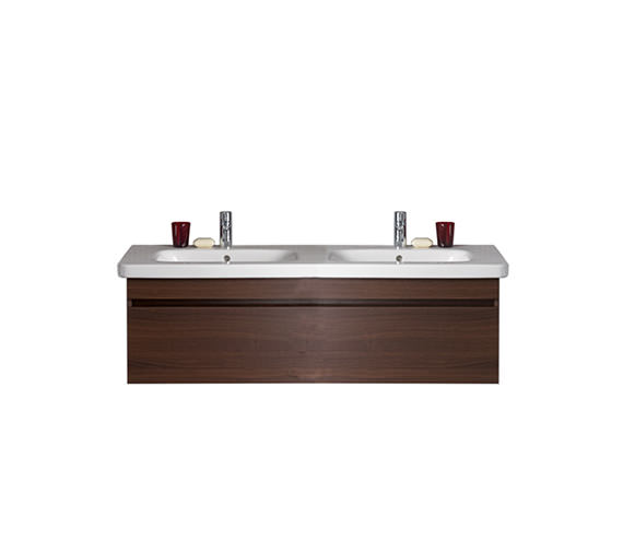 Duravit DuraStyle 1150mm Vanity Unit With D-Code Double Basin