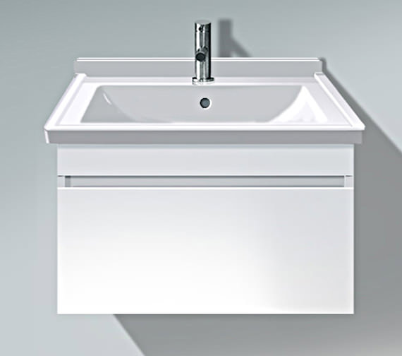 Duravit DuraStyle 650mm Vanity Unit With 700mm Starck 3 Basin