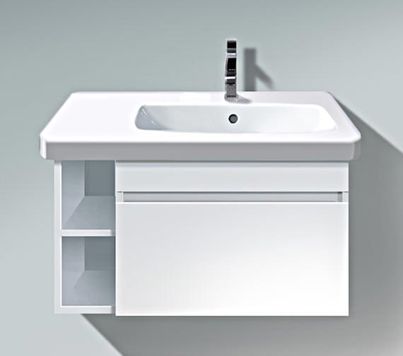 Duravit DuraStyle 730mm Vanity Unit With Bowl On Right Basin