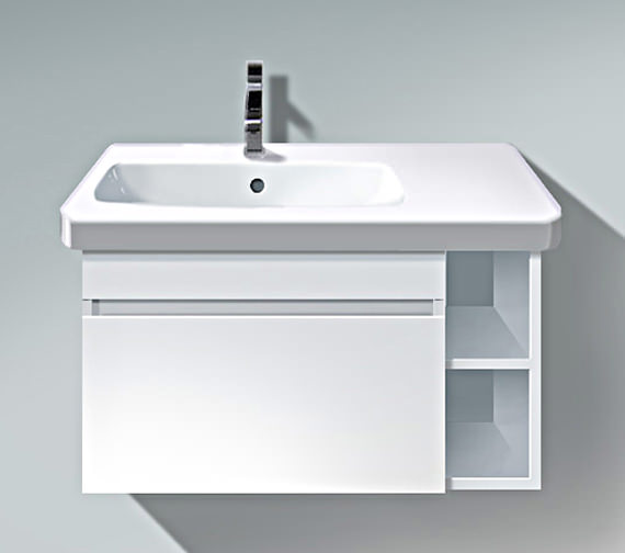 Duravit DuraStyle 730mm Vanity Unit With Bowl On Left Basin
