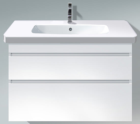 Duravit DuraStyle 930mm 2 Drawers Unit With 1000mm Basin - DS 6482