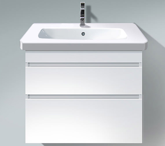 Duravit DuraStyle 800mm 2 Drawers Unit With D-Code 850mm Basin