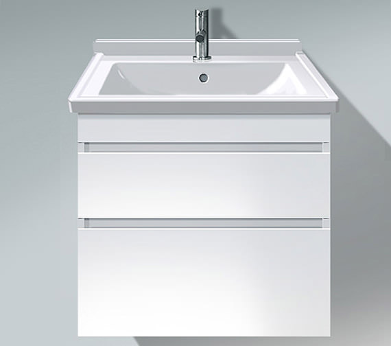 Duravit DuraStyle 650mm 2 Drawers Unit With 700mm Starck 3 Basin
