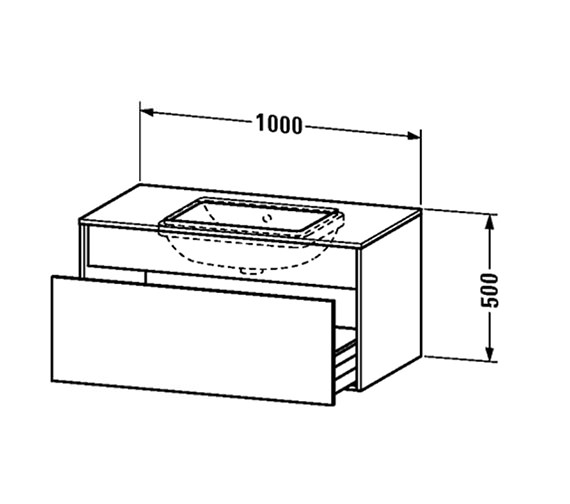 Technical drawing QS-V25000 / DS688401818