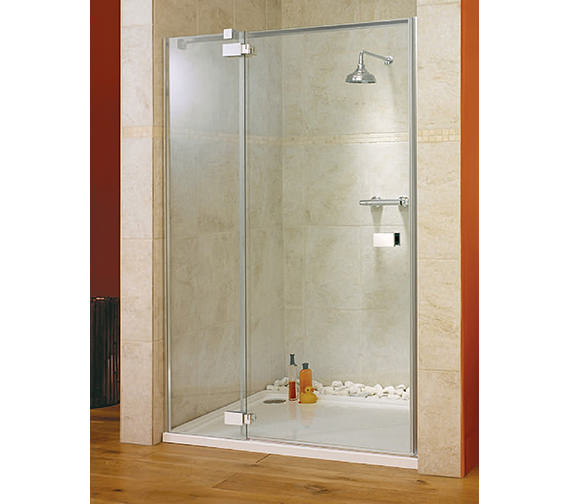 Lakes Italia Vittoria Frame-less Left-Hand Hinged Shower Door 1200mm